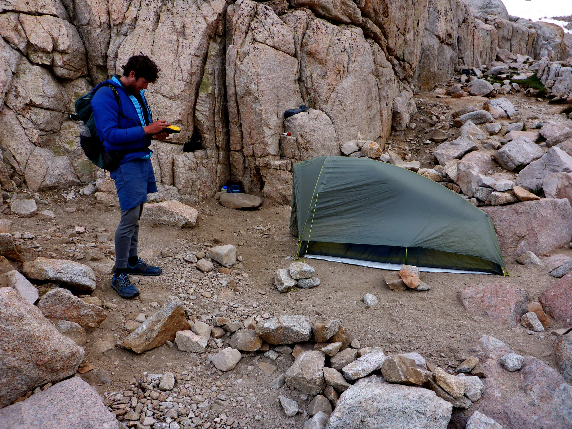 Camping near water bodies in wilderness: sustainable camping management strategies