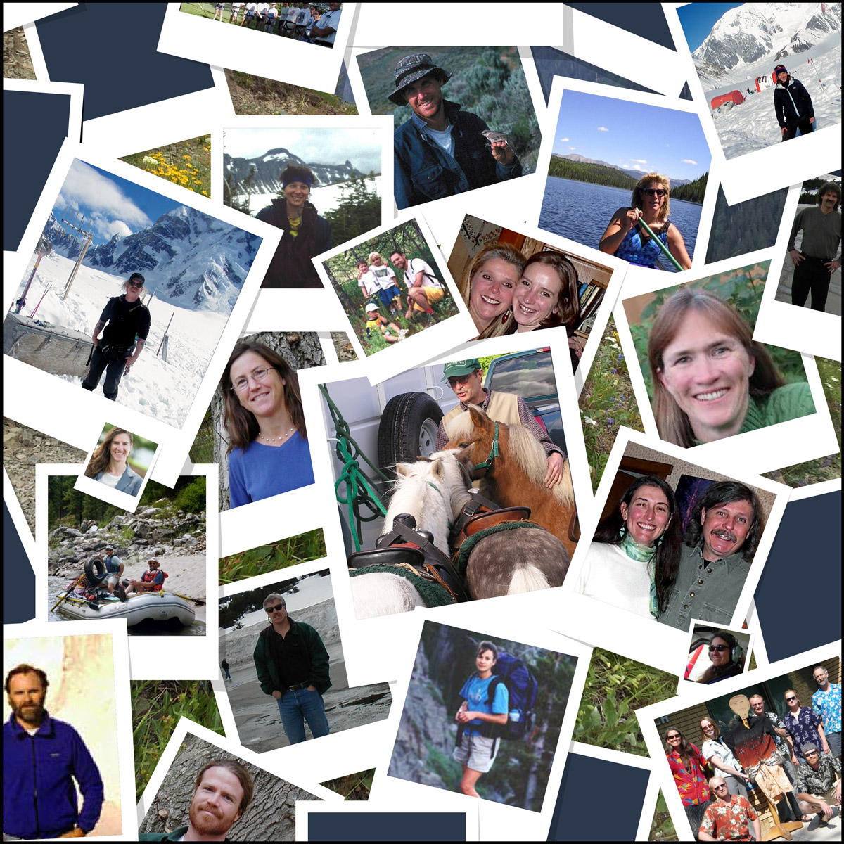 Image collage of Aldo Leopold staff