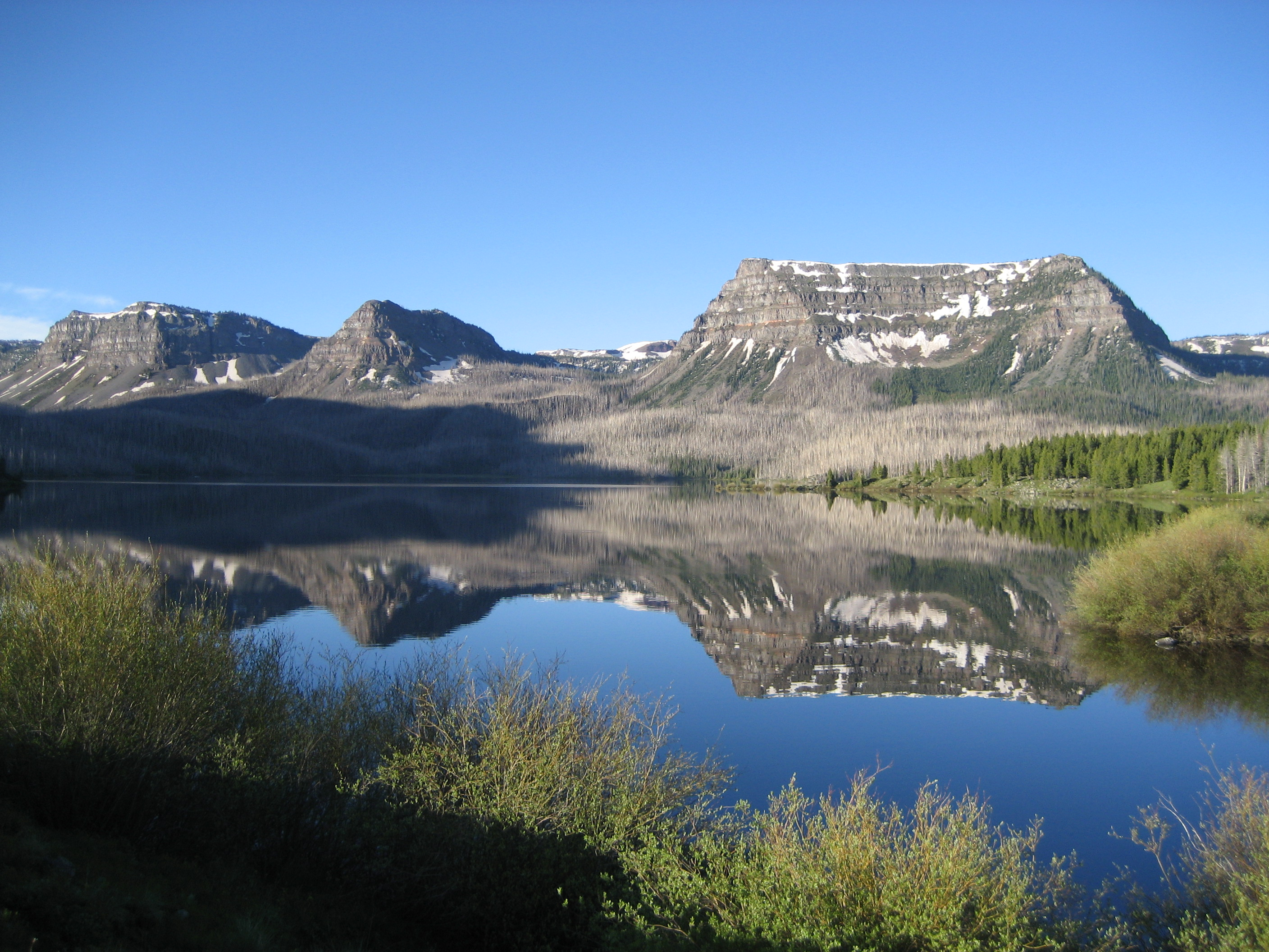 Trappers Lake and the Flattops Wilderness Area